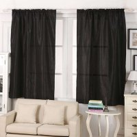 Polyester Blackout Thermal Solid door Window Curtain 190cm x 130cm Pink, Deep Blue, Coffee, Black, Beige Home School Decoration