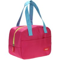 Portable Waterproof Thickness Insulated Picnic School Lunch Bag (Rose Red)