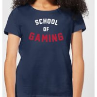 School of Gaming Women's T-Shirt - Navy - XL - Navy