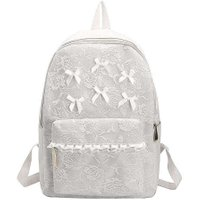 Women Fashion School Students Lace High-Capacity Bags Backpacks